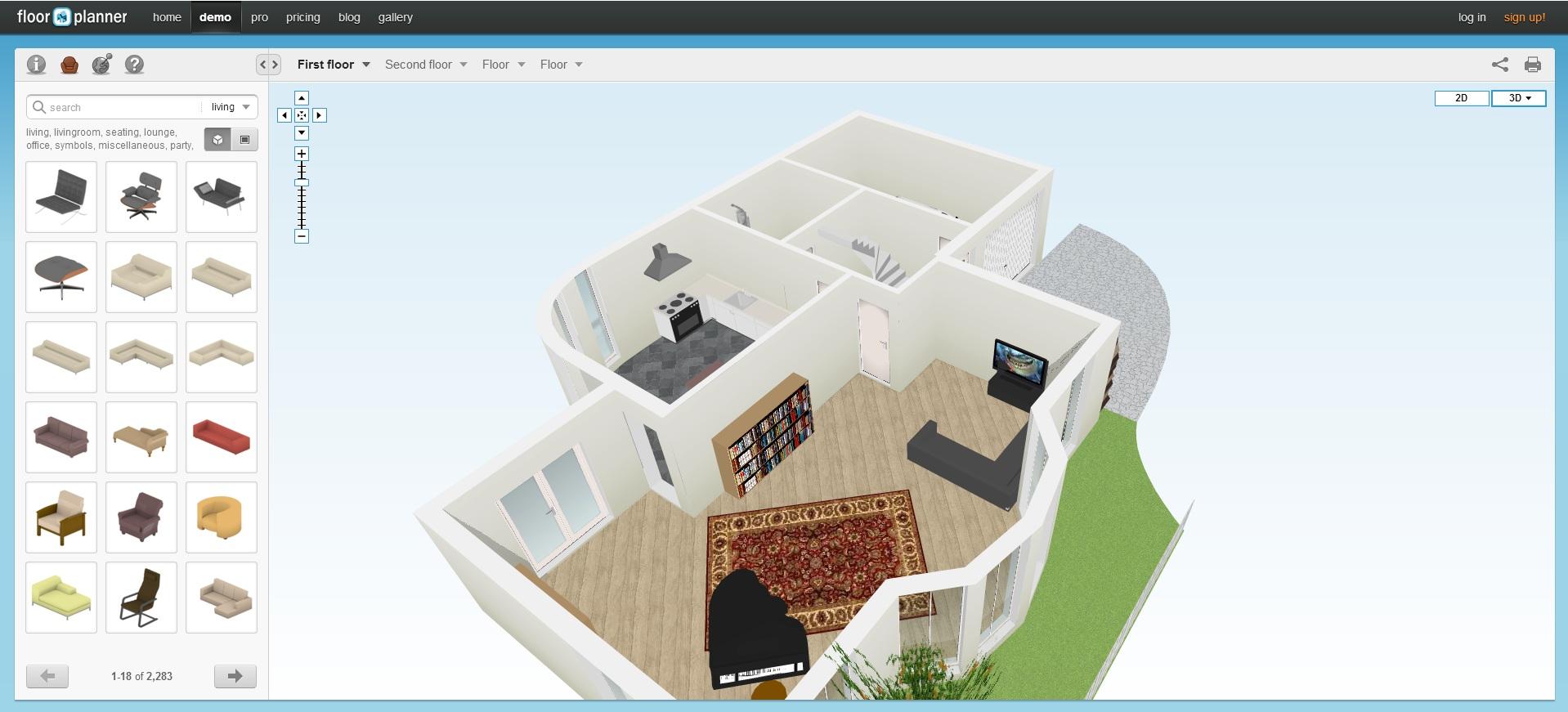 Navrhnite si vlastn byt jednoducho a online for Online 3d program