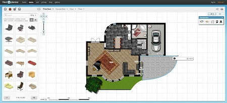 FloorPlanner website
