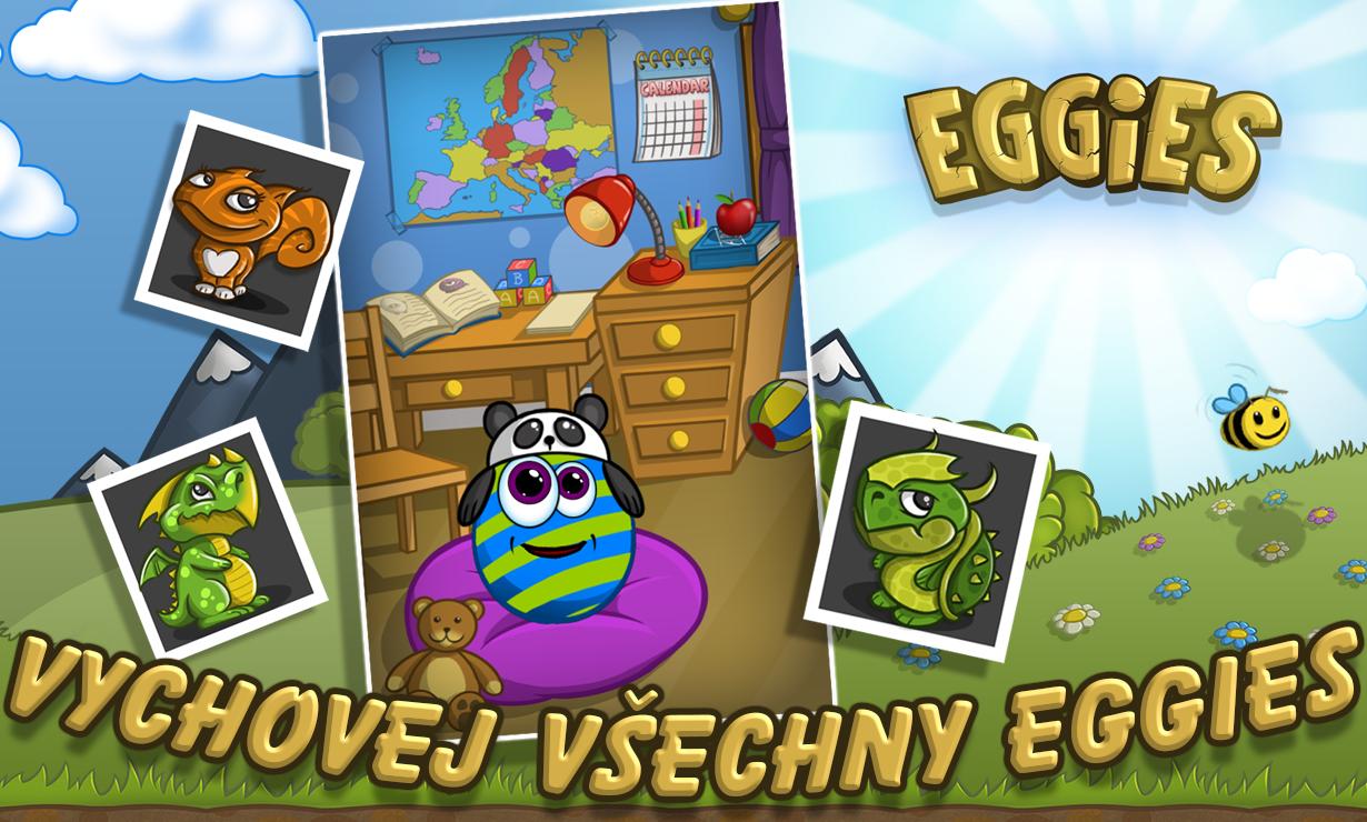 Eggies (mobilné) na stiahnutie zadarmo
