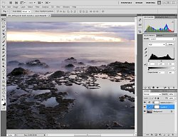 Adobe Photoshop CS4 - Histogram