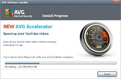 AVG AcceleratorAVG Internet Security 2012