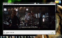 VLC media player - Přehrávání filmuVLC Media Player