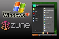 Microsoft Zune Theme for WinXP