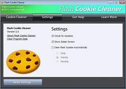 Nežiaduce sušienkyFlash Cookie Cleaner
