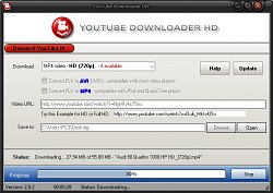 SťahovanieYoutube Downloader HD