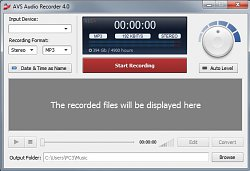 AVS Audio Recorder