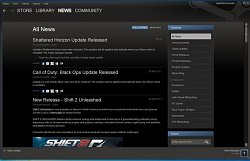 Steam - Informace o herních updatechSteam