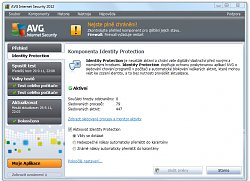 Ochrana IdentityAVG Anti-Virus Free Edition