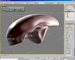 Model vetrelca3D Studio Max 8