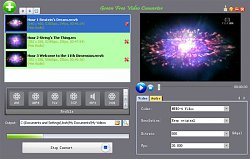 Prevod formátovGreen Free Video Converter