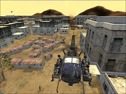 Prelet nad mestomDelta Force: Black Hawk Down