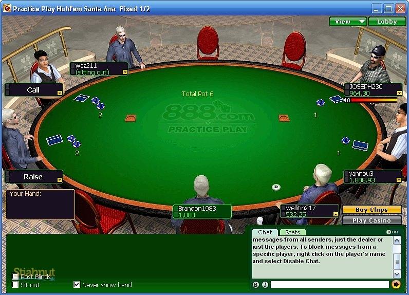 Poker hra zadarmo