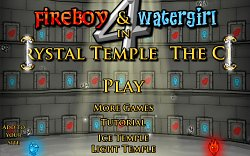 Roztomilá grafikaFireBoy and WaterGirl 4: The Crystal Temple