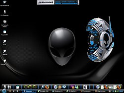 Téma InvaderAlienware Themes