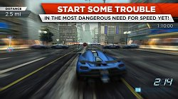 PretekyNeed for Speed Most Wanted (mobilné)
