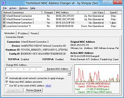 Win8 poistenieTechnitium MAC Address Changer