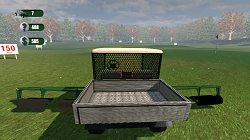 Driving Range Golf Ball Picker-Upper Cart Simulator 2013