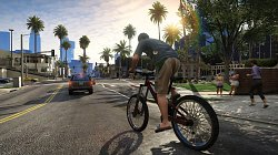 Na bicykliGrand Theft Auto V