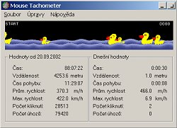 Mouse Tachometer