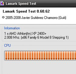 Lamark Speed Test