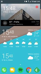 WidgetToday Weather (mobilné)