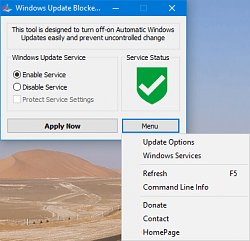 BlokovanieWindows Update Blocker