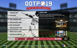 Menu hryOut of the Park Baseball 19