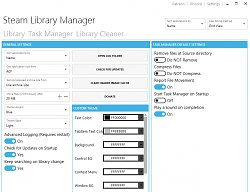NastaveniaSteam Library Manager