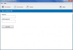 Tvorba heslaUlinsoft Password Manager