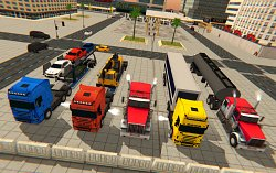 TruckyCargo Delivery Truck Parking Simulator Games 2018 (mobilné)