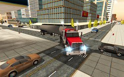 ZákrutaCargo Delivery Truck Parking Simulator Games 2018 (mobilné)