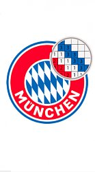 BayernLogo pixel by color: Football manager puzzle (mobilné)