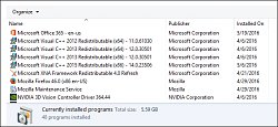 Verzia MS Visual 2015Microsoft Visual C++ Redistributable 2015