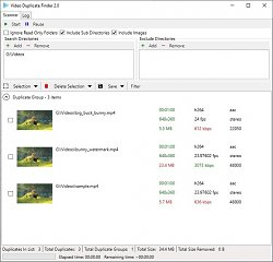 Video Duplicate Finder