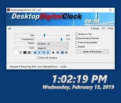 DesktopDigitalClock