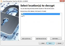 Avast Decryption Tool for AES_NI Ransomware