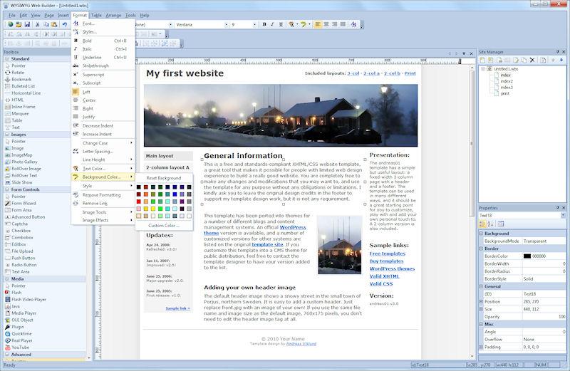 WYSIWYG Web Builder 8.5.4 + crack (keygen). Чтение RSS. Лучший сайт для т